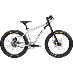 "Early Rider Belter Trail 3 Complete Bike: 20"" Wheel Silver/Black/Purple"