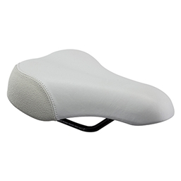 Planet Bike Little A.R.S. Saddle: Small, White