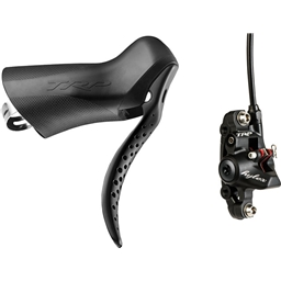 TRP Hylex Single Speed Right Hand Hydraulic Brake Lever, Post Mount Disc Caliper, 1800 mm Hose, Rotor Not Included, Black