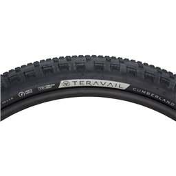 "Teravail Cumberland Tire, 29+ x 2.6"", Durable, Black"