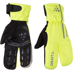 Craft Siberian Split Finger Glove: Hi-Vis