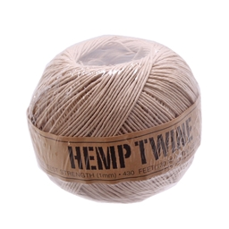 Newbaum's Hemp Twine, Natural - Roll/385ft