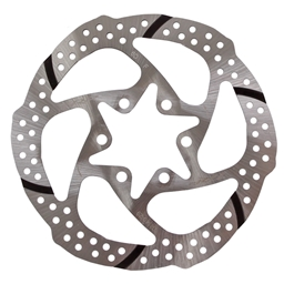 TRP Slotted Disc Brake Rotor, 140mm