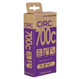 """Circ Deluxe Tube, 700x19-23c+27x1"""", PV(r) 33mm, Each"""