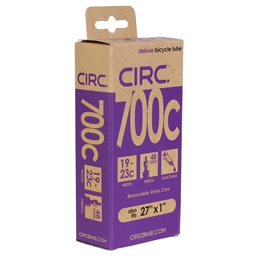 """Circ Deluxe Tube, 700x19-23c+27x1"""", PV(r) 48mm, Each"""