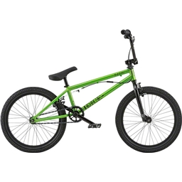 "Radio Dice FS 20"" 2018 Complete BMX Bike 20"" Top Tube Metallic Green"