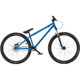 "Radio Griffin 26"" 2018 Complete Dirt Jump Bike 22.6"" Top Tube Metallic Cyan"