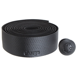 Charge Bikes U-Bend 45 Bar Tape, Black Synthetic Leather