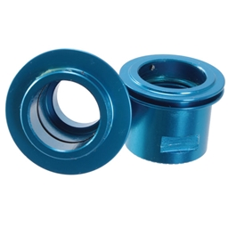 Turnagain Borealis Rear 12mm T/A Endcaps, XD Blue Pair