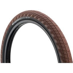 """We The People Overbite Tire 22 x 2.3"""" 100 PSI Brown Tread/Black Sidewall"""