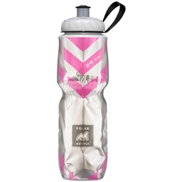 Polar Bottle Insulated Royal Peacock Sport 24 Oz Bike Water Bottle BPA Free