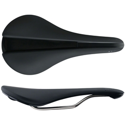 Fabric Line Race Shallow Saddle: Black, 142mm
