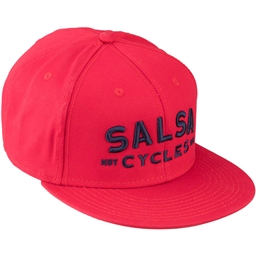 Salsa Spicy Trucker Snapback Hat: Red/Blue One Size