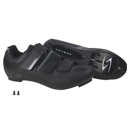 Serfas Men's Paceline 3-Strap Road Shoes Black SMR-401B