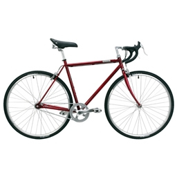 Detroit Bikes C-Type Complete Bike, Candy Apple - S/M
