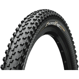"""Continental Cross King 26 x 2.3"""" Fold ProTection+ Tire: Black Chili"""