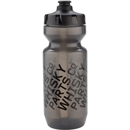 Whisky Parts Co. Purist Water Bottle: 22oz Logo Smoke