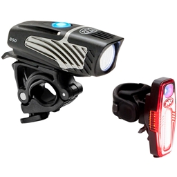 NiteRider Lumina Micro 850 and Sabre 80 Headlight and Taillight Set
