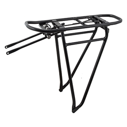 "Racktime Eco 2.0 Tour Rack 700c/29"" w/Spring Clamp Black"