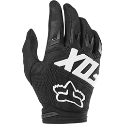 Fox Racing Dirtpaw Race Men's Full Finger Glove: Black