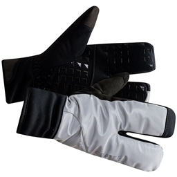 Craft Siberian 2.0 Split Finger Glove: Silver/Black