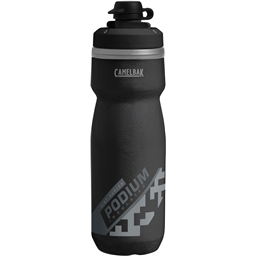 Camelbak Podium Chill Dirt Series Water Bottle: 21oz Black