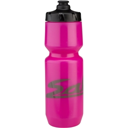 Salsa Purist Water Bottle: 26oz Logo Hot Pink