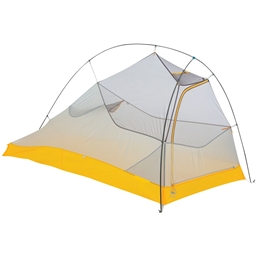 Big Agnes Inc. Fly Creek HV UL1 Bike Packing Shelter: Gray/Gold 1-person