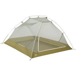 Big Agnes Inc. Seedhouse SL3 Shelter: Olive/Gray 3-person