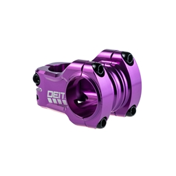 Deity Components Copperhead Stem - 35mm, 31.8mm, 0 Degree, Aluminum, Purple