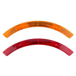 Sunlite Wheel Reflector Set, Yellow/Red