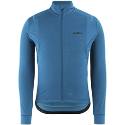 Garneau Thermal Edge Men's Jersey: Myk Blue