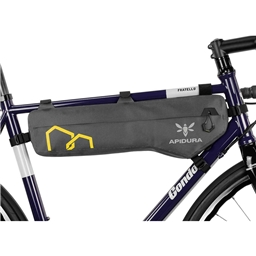 Apidura Expedition Tall 5L Frame Pack, Gray/Black