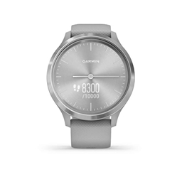 Garmin, vivomove 3, Watch, Watch Color: Grey, Wristband: Grey - Silicone