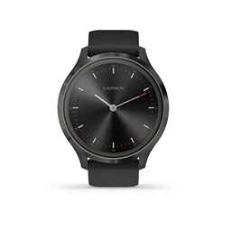 Garmin, vivomove 3, Watch, Watch Color: Slate, Wristband: Black - Silicone