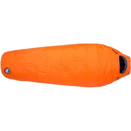 Big Agnes Inc. Lost Dog 15F Fireline Eco Sleeping Bag - Orange/Navy Regular