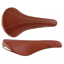 Selle San Marco Rolls Saddle, 282 x 143mm, Smooth Leather Honey