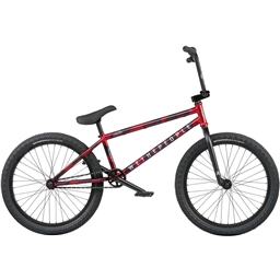 "We The People Audio 22"" BMX Bike - 21.9"" TT, Matte Aqua Red"