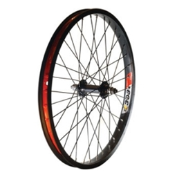 """Alex Y303 48H Alloy 14mm Nutted 20"""" x 1.75"""" Black Wheel Front"""