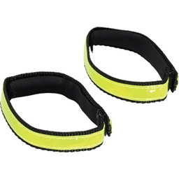 Nathan Reflective Cyclst Ankle Band: Yellow