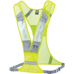 Nathan Proton LED Safety Light Vest: Neon Yellow; One size