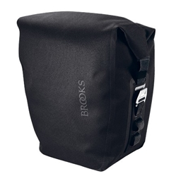 Brooks Land's End Rear Pannier with Ortlieb QL2 Attachment and Without Pocket - Slate