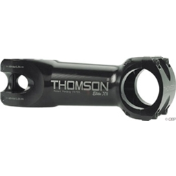 "Thomson X4 Mountain 31.8 100mm 100 Degrees Black 1-1/8"" Threadless Stem"