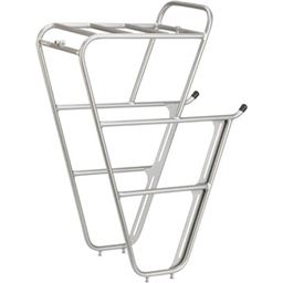 Surly CroMoly Front Rack 2.0: Silver