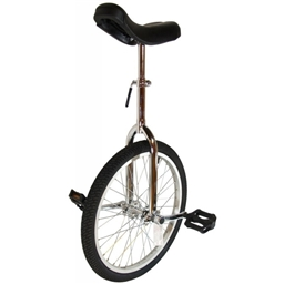 """Bor Yueh By-904a 24"""" Alloy Wheel Unicycle Chrome"""
