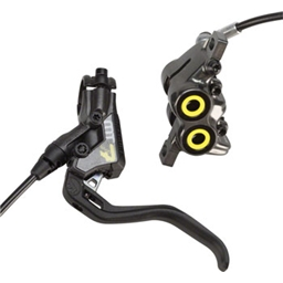 Magura MT7 Next 4-Piston Disc Brake and Lever Front Black/Yellow - OPEN BOX SPECIAL