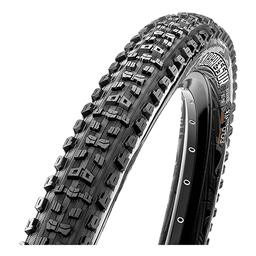 "Maxxis Aggressor DC/EXO/TR 26 x 2.3"" Tubeless Folding Bead Black"