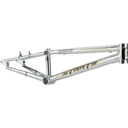 """Staats Bloodline SuperMoto30 Pro XXL PF30 Frame 22"""" Top Tube Silver Arrow Polished"""