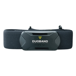 Topeak DuoBand Heart Rate Monitor with Chest Strap Set, Bluetooth Smart 4.0 & ANT+ Dual Band System
