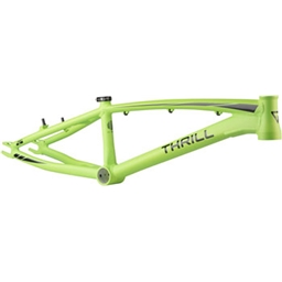 "Thrill BMX Pro XL Frame, 21.46"" Top Tube, Green and Black"